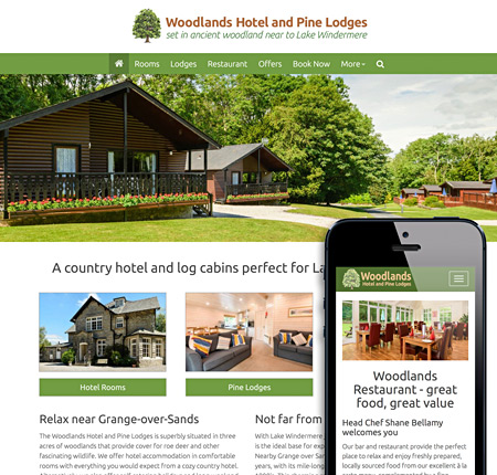 Grange-over-Sands Website Design